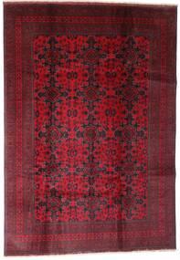 Afghan Khal Mohammadi Vloerkleed 202X290 Echt Oosters Handgeknoopt Donkerrood (Wol, Afghanistan)