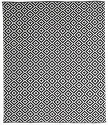 Torun - Zwart/Neutral Vloerkleed 250X300 Echt Modern Handgeweven Donkergrijs/Lichtgrijs Groot (Katoen, India)