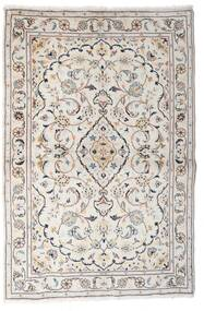 Keshan Vloerkleed 97X150 Echt Oosters Handgeknoopt Lichtgrijs/Beige (Wol, Perzië/Iran)