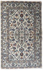 Keshan Vloerkleed 95X154 Echt Oosters Handgeknoopt Lichtgrijs/Donkergrijs (Wol, Perzië/Iran)