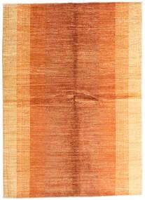 Battuta Vloerkleed 170X234 Echt Modern Handgeknoopt Oranje/Donkerbeige (Wol, Afghanistan)