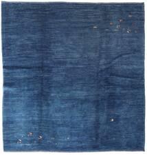 Gabbeh Kashkuli Vloerkleed 206X209 Echt Modern Handgeknoopt Vierkant Donkerblauw/Blauw (Wol, Perzië/Iran)