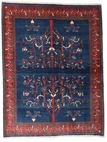 Gabbeh Kashkuli Vloerkleed 154X200 Echt Modern Handgeknoopt Donkerpaars/Donkerblauw (Wol, Perzië/Iran)