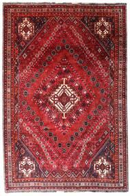 Ghashghai Vloerkleed 205X308 Echt Oosters Handgeknoopt Donkerrood/Rood (Wol, Perzië/Iran)