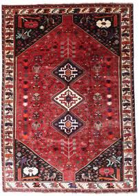Ghashghai Vloerkleed 201X287 Echt Oosters Handgeknoopt Donkerrood/Rood (Wol, Perzië/Iran)