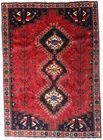 Ghashghai Vloerkleed 206X291 Echt Oosters Handgeknoopt Rood/Donkerrood (Wol, Perzië/Iran)