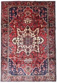 Bakhtiar Vloerkleed 216X315 Echt Oosters Handgeknoopt Donkerpaars/Donkerrood (Wol, Perzië/Iran)