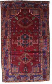 Lori Vloerkleed 150X251 Echt Oosters Handgeknoopt Donkerrood/Donkerpaars (Wol, Perzië/Iran)