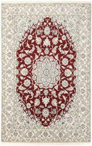 Nain 9La Vloerkleed 143X223 Echt Oosters Handgeknoopt Beige/Lichtgrijs (Wol/Zijde, Perzië/Iran)