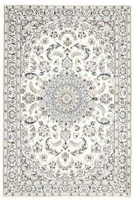 Nain 9La Vloerkleed 115X175 Echt Oosters Handgeknoopt Lichtgrijs/Beige (Wol/Zijde, Perzië/Iran)