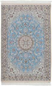 Nain 9La Vloerkleed 115X178 Echt Oosters Handgeknoopt Lichtgrijs/Lichtblauw (Wol/Zijde, Perzië/Iran)