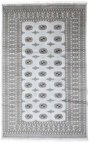 Pakistan Bokhara 2Ply Vloerkleed 199X310 Echt Oosters Handgeknoopt Donkergrijs/Lichtgrijs/Wit/Creme (Wol, Pakistan)