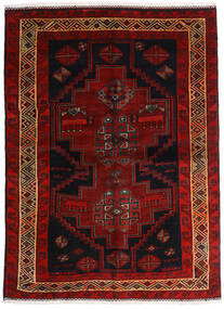 Lori Vloerkleed 156X211 Echt Oosters Handgeknoopt Donkerbruin/Donkerrood (Wol, Perzië/Iran)