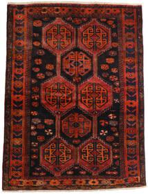 Lori Vloerkleed 147X197 Echt Oosters Handgeknoopt Donkerrood/Roestkleur (Wol, Perzië/Iran)