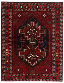 Lori Vloerkleed 165X207 Echt Oosters Handgeknoopt Donkerrood/Rood (Wol, Perzië/Iran)