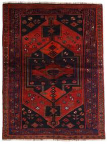 Lori Vloerkleed 153X205 Echt Oosters Handgeknoopt Donkerrood/Roestkleur (Wol, Perzië/Iran)