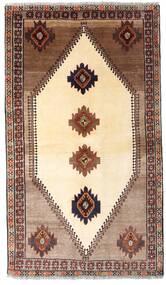 Ghashghai Vloerkleed 128X224 Echt Oosters Handgeknoopt Beige/Donkerbruin (Wol, Perzië/Iran)