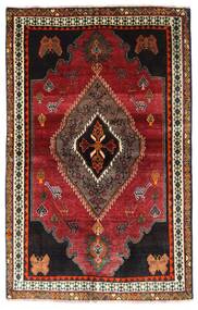 Ghashghai Vloerkleed 127X203 Echt Oosters Handgeknoopt Donkerrood/Donkerbruin (Wol, Perzië/Iran)