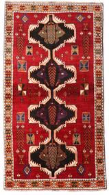 Ghashghai Vloerkleed 117X220 Echt Oosters Handgeknoopt Roestkleur/Donkerrood (Wol, Perzië/Iran)