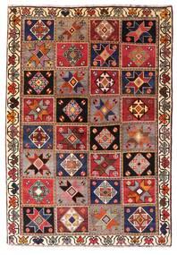 Ghashghai Vloerkleed 136X197 Echt Oosters Handgeknoopt Donkerrood/Donkerbruin (Wol, Perzië/Iran)