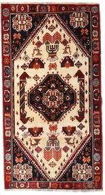 Ghashghai Vloerkleed 120X225 Echt Oosters Handgeknoopt Donkerrood/Beige (Wol, Perzië/Iran)