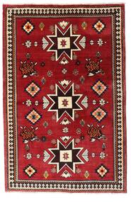 Ghashghai Vloerkleed 127X197 Echt Oosters Handgeknoopt Donkerrood (Wol, Perzië/Iran)