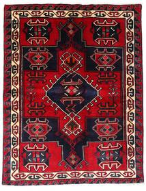 Lori Vloerkleed 173X223 Echt Oosters Handgeknoopt Donkerpaars/Donkerrood/Rood (Wol, Perzië/Iran)