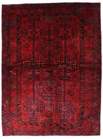 Lori Vloerkleed 174X230 Echt Oosters Handgeknoopt Donkerrood (Wol, Perzië/Iran)