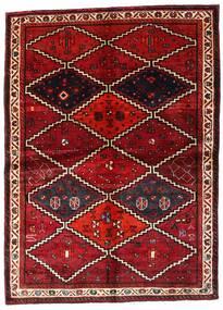 Lori Vloerkleed 162X224 Echt Oosters Handgeknoopt Donkerrood (Wol, Perzië/Iran)