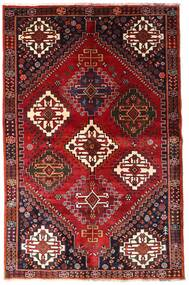 Ghashghai Vloerkleed 155X239 Echt Oosters Handgeknoopt Donkerrood/Roestkleur (Wol, Perzië/Iran)
