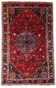 Ghashghai Vloerkleed 158X253 Echt Oosters Handgeknoopt Donkerrood/Lichtroze (Wol, Perzië/Iran)