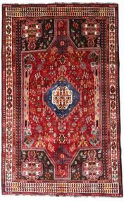 Ghashghai Vloerkleed 164X264 Echt Oosters Handgeknoopt Donkerrood/Roestkleur (Wol, Perzië/Iran)