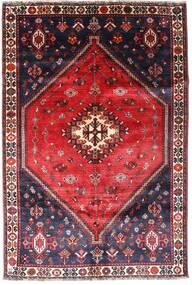 Ghashghai Vloerkleed 160X241 Echt Oosters Handgeknoopt Zwart/Donkerpaars (Wol, Perzië/Iran)