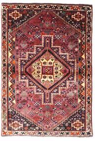 Ghashghai Vloerkleed 107X156 Echt Oosters Handgeknoopt Donkerrood/Donkerbruin (Wol, Perzië/Iran)