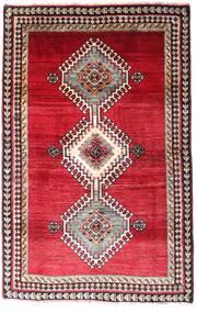 Ghashghai Vloerkleed 120X185 Echt Oosters Handgeknoopt Donkerrood/Rood (Wol, Perzië/Iran)