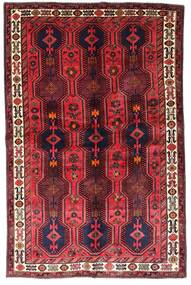 Lori Vloerkleed 153X237 Echt Oosters Handgeknoopt Donkerrood/Rood (Wol, Perzië/Iran)