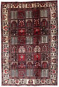Bakhtiar Vloerkleed 205X304 Echt Oosters Handgeknoopt Donkerbruin/Donkerrood (Wol, Perzië/Iran)