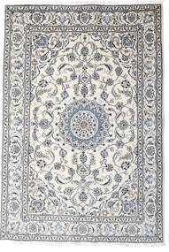 Nain Vloerkleed 195X285 Echt Oosters Handgeknoopt Lichtgrijs/Beige (Wol, Perzië/Iran)