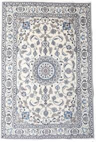 Nain Vloerkleed 189X283 Echt Oosters Handgeknoopt Lichtgrijs/Beige/Wit/Creme (Wol, Perzië/Iran)