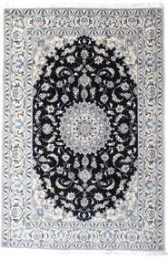 Nain Vloerkleed 200X297 Echt Oosters Handgeknoopt Wit/Creme/Lichtgrijs (Wol, Perzië/Iran)
