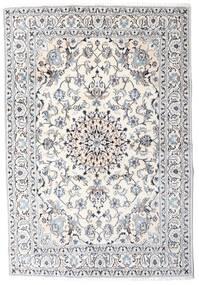 Nain Vloerkleed 164X242 Echt Oosters Handgeknoopt Beige/Lichtgrijs (Wol, Perzië/Iran)
