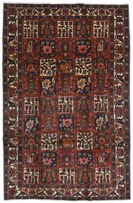 Bakhtiar Vloerkleed 204X312 Echt Oosters Handgeknoopt Donkerrood/Zwart (Wol, Perzië/Iran)