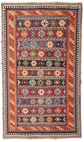 Kelim Vintage Vloerkleed 162X270 Echt Oosters Handgeweven Donkerrood/Donkerbruin (Wol, Perzië/Iran)