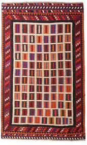Kelim Vintage Vloerkleed 174X281 Echt Oosters Handgeweven Donkerrood/Donkerbruin (Wol, Perzië/Iran)