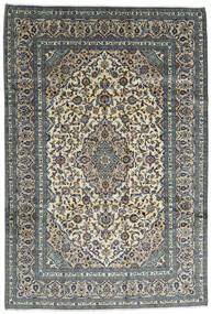Keshan Vloerkleed 242X355 Echt Oosters Handgeknoopt Donkergrijs/Lichtgrijs (Wol, Perzië/Iran)