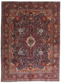 Kashmar Vloerkleed 288X387 Echt Oosters Handgeknoopt Donkerrood/Donkerbruin Groot (Wol, Perzië/Iran)