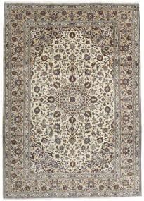 Keshan Vloerkleed 250X348 Echt Oosters Handgeknoopt Lichtgrijs/Donkergrijs Groot (Wol, Perzië/Iran)