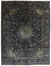 Kashmar Vloerkleed 290X384 Echt Oosters Handgeknoopt Zwart/Donkerbruin Groot (Wol, Perzië/Iran)
