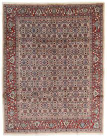 Mahal Vloerkleed 245X320 Echt Oosters Handgeknoopt Beige/Donkerbruin (Wol, Perzië/Iran)