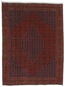 Bidjar Vloerkleed 304X404 Echt Oosters Handgeknoopt Donkerrood/Donkerbruin Groot (Wol, Perzië/Iran)